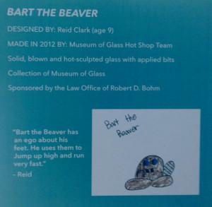 Kids Design Glass Program - Tacomo Museum of Glass